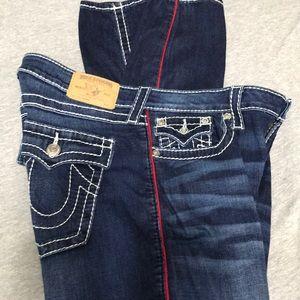 Size 33 True Religion women's jeans